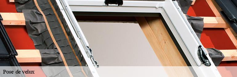 Pose de velux  saint-privat-07200 Uhlmann Couverture